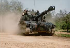 CHAR M109 - Equipement en matériels et véhicules militaires