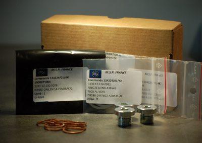 Joint et Bouchons Kit MSPF - Pièces détachées matériel militaire / Military Spare Parts