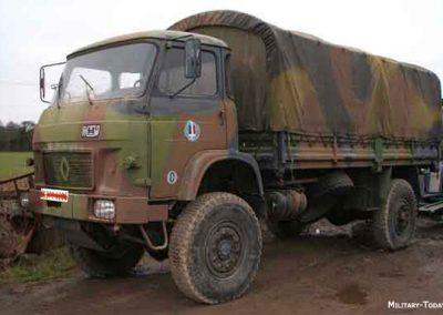 TRM 4000 - Equipement en matériels et véhicules militaires
