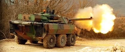 ERC 90 - Equipement en matériels et véhicules militaires