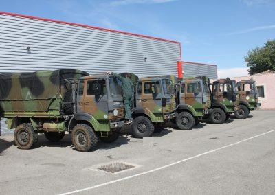 TRM2000 - Equipement en matériels et véhicules militaires